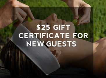 Gift Certificates For New Guests In Tampa FL